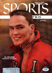 Al Wiggins Autographed Sports Illustrated Magazine PSA/DNA #X65493