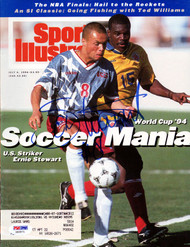 Ernie Stewart Autographed Sports Illustrated Magazine Team USA PSA/DNA #X65571
