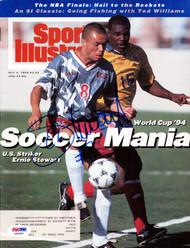 Ernie Stewart Autographed Sports Illustrated Magazine Team USA PSA/DNA #X65582