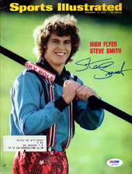 Steve Smith Autographed Sports Illustrated Magazine PSA/DNA #X62932