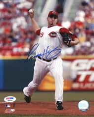 Aaron Harang Autographed 8x10 Photo Cincinnati Reds PSA/DNA #Q88694