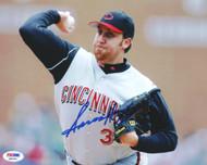 Aaron Harang Autographed 8x10 Photo Cincinnati Reds PSA/DNA #Q88695