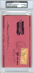 Clarence McArthur Autographed Envelope PSA/DNA #83814157