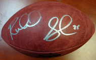 Richard Sherman Autographed Super Bowl Champions Leather Football Seattle Seahawks RS Holo #12528