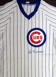 Leo Durocher Autographed Chicago Cubs Jersey PSA/DNA #V09866