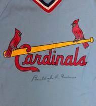 Burleigh Grimes Autographed St. Louis Cardinals Jersey PSA/DNA #W06972