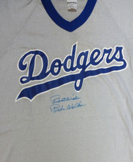 "Al Rube Walker Autographed Dodgers Jersey ""Best Wishes"" PSA/DNA #X04119"