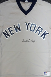 Waite Hoyt Autographed New York Yankees Jersey PSA/DNA #V11321