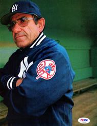 Yogi Berra Autographed 8.5x11 Magazine Page Photo New York Yankees PSA/DNA #S39079