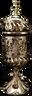 Carousel electric Mubkhara in Bronze