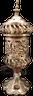 Carousel electric Mubkhara in Copper