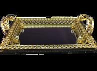 Jewel Mirror Tray (Fruit Tray) AttarMist.com
