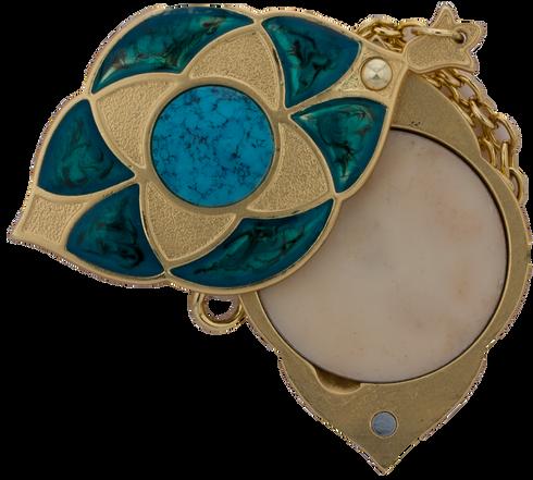 Attar Jamid Sahar Al Fairoz locket by AsgharAli - AttarMist.com