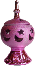 Pink Ceramic Incense Burner