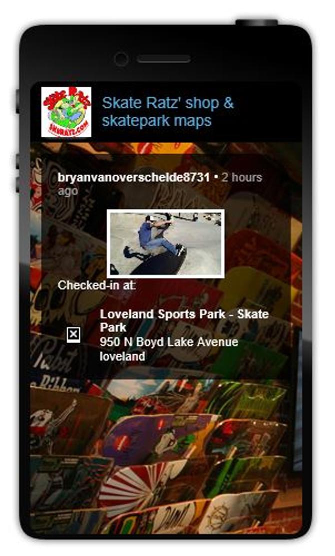 Download the Skate Ratz Mobile App