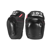 187 Killer Pads - Fly skate Knee Pads - Black