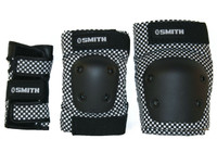 Smith Scabs Safety Gear -  YOUTH 3 PACK - BLACK / WHITE CHECKER