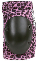 Smith Scabs Safety Gear - PINK LEOPARD- Elite ELBOW Pads -