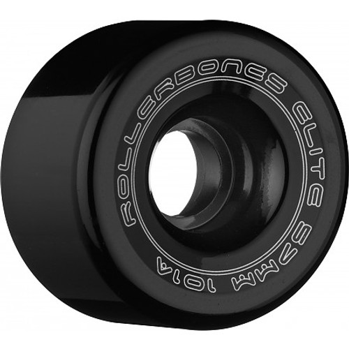 Rollerbones - Art Elite 57mm 101a Black Competition Wheels ( 8 pack )