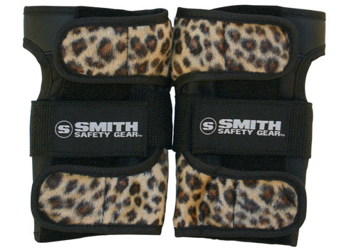 Smith Scabs Safety Gear -  WRIST GUARDS - LEOPARD
