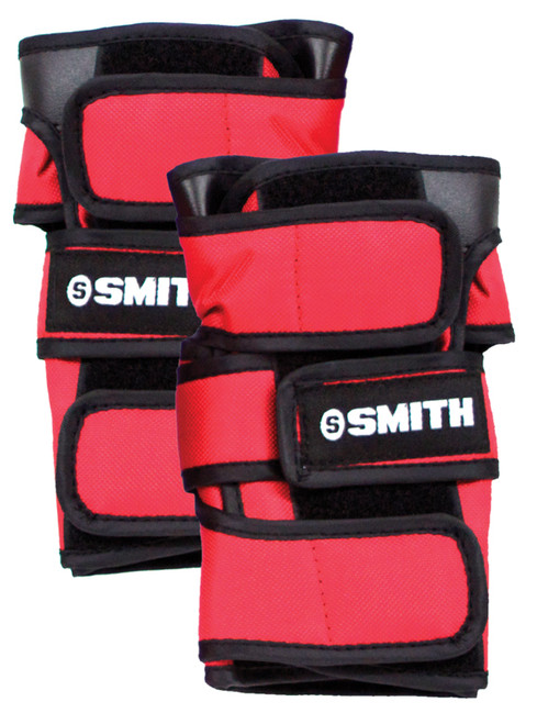 Smith Scabs Safety Gear -  WRIST GUARDS - RED