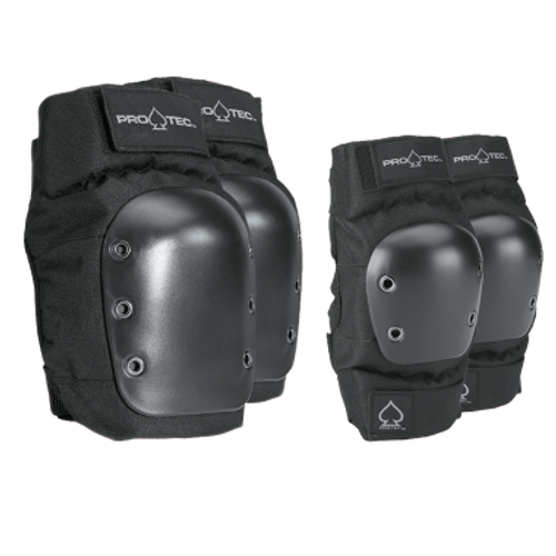 PROTEC - Knee / Elbow Pad Set - Black