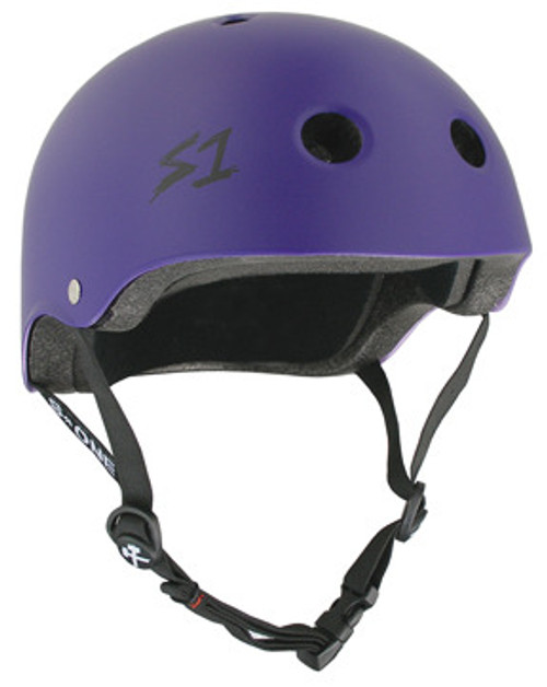 S-One Helmets -  S1 Lifer Certified Multiple Impact - Purple Matte s one