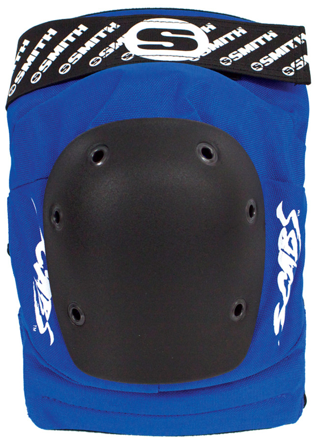 Smith Scabs Safety Gear - BLUE Elite Knee Pads -