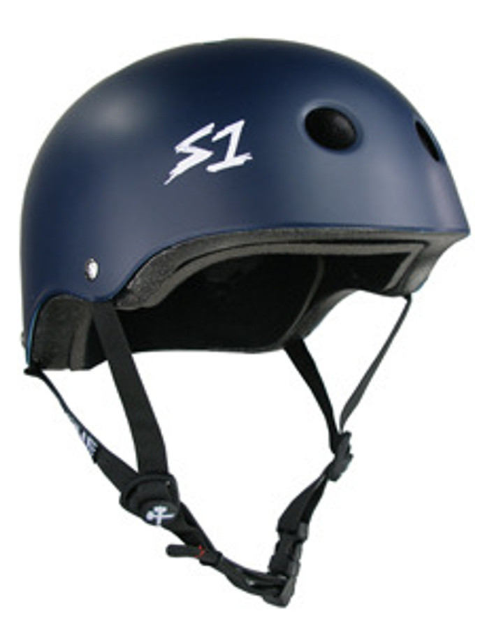 S-One Helmets -  S1 Lifer Certified Multiple Impact - Navy Matte s one