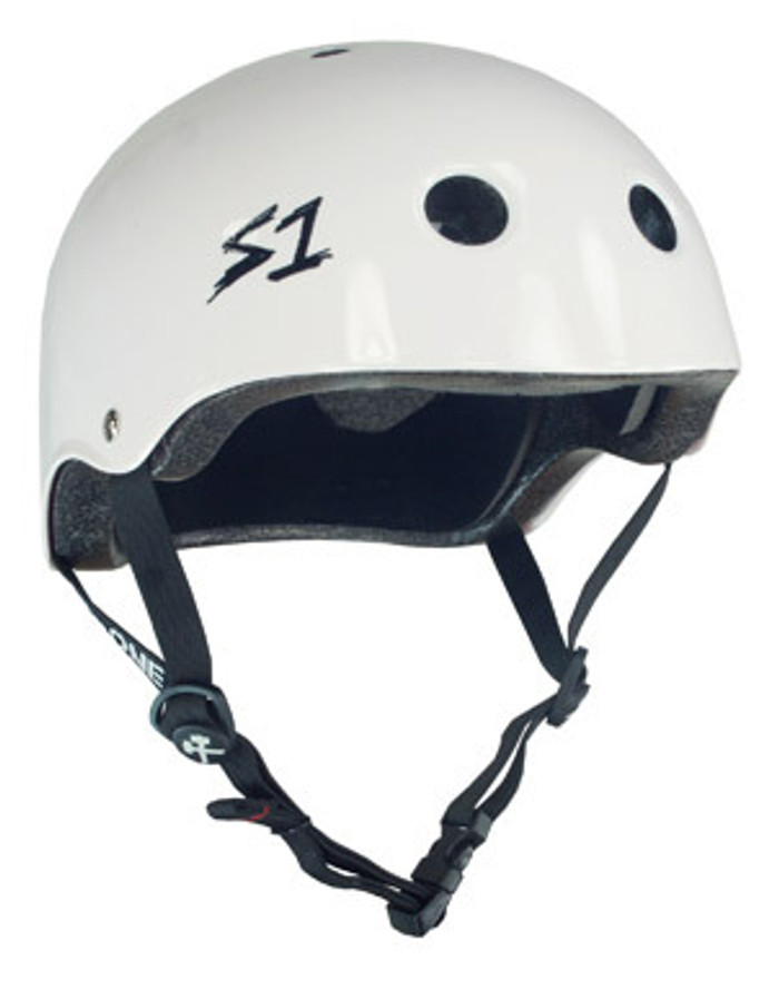 S-One Helmets - S1 Lifer Certified Multiple Impact - White Gloss s one