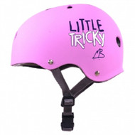 Triple 8 - PINK Little Tricky Dual Certified Youth Helmet with EPS Liner