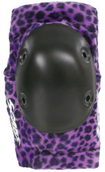 Smith Scabs Safety Gear - PURPLE LEOPARD- Elite ELBOW Pads -