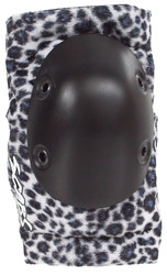 Smith Scabs Safety Gear - WHITE LEOPARD- Elite ELBOW Pads -