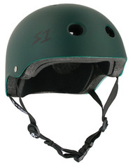S-One Helmets -  S1 Lifer Certified Multiple Impact - Dark Green Matte s one