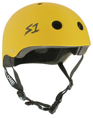 S-One Helmets - S1 Lifer Certified Multiple Impact - Yellow Matte s one