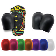 Smith Scabs Safety Gear - Elite Knee Pad RE-CAPS now in colors
