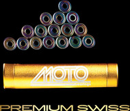 Moto Premium Swiss bearings ( set of 16 roller derby bearings )