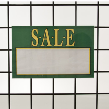 Grid Gridwall Acrylic Sign Holder 7 Quot H X 11 Quot W