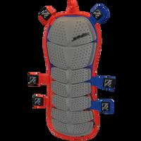 Striker Back Deflector - Blue/Red-  Front