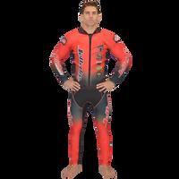 Classic Red Wetsuit PWC Jet Ski Ride & Race Jetski Freerider