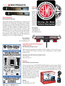 SEMA News Magazine Feature, June 2013