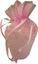 Pink Favour Basket