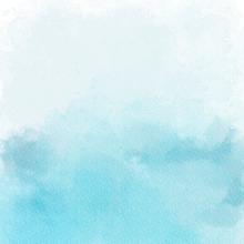 Blue Ombre Watercolour backdrop UK