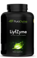 LiyfZymeTM are full spectrum, plant-based, super digestive enzymes, including sulfite-free papain. Using 16 different powerful enzymes this formula contains not only the highest enzyme activities but has been specially designed with the best ratios to meet today's varying diets! Excellent for using with cooked foods and raw foods which are both enzyme deficient. Enzymes are the vital workers necessary for optimal digestion, they are responsible for the breakdown and absorption of all nutrients, and are the body's key communicators. Using all natural wholefood enzyme cofactors, Lifyzyme is able to create a soothing effect even for those who have extreme heartburn or indigestion. This makes this all-natural, non-synthetic Super Digestive Supplement the perfect choice for everyone!  It's not only the food in your life, but the Liyf in your food!