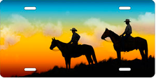 Full Color Cowboys Auto Plate sku T2279D