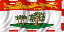 Flag of Prince Edward Island Auto Plate sku T2912F