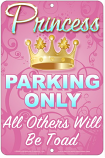Princess Parking Sign sku MS3145R