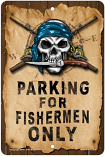 Parking for Fishermen Sign sku MS101