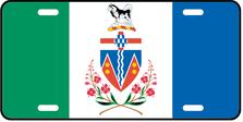 Yukon Prov Flag Plate