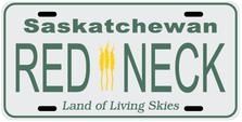 Saskatchewan Prov Plate